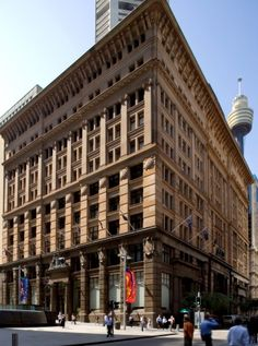 The former CBA, money box bank at 120 Pitt Street, now known as 5 Martin Place. Multi Story Building, Street View, Money Box, News Articles, Places, Sydney, Collection, Home, Style