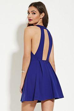 Cutout A-Line Dress | Forever 21 - 2000182215