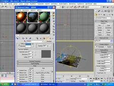3D맥스 6 초급   17강   재질편집기의 기본구성