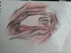 En proceso, lápices de colores