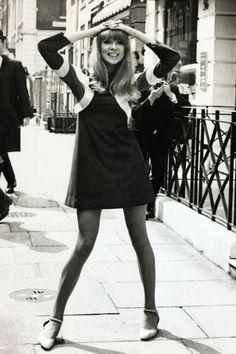 How to wear 60s mod: It's the haute hemline that had Patti Smith turning heads—short, short, short.
