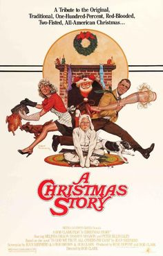 Christmas Story (1983) Original One Sheet Movie Poster