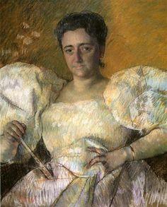 Portrait of Mrs. H. O. Hevemeyer - Mary Cassatt