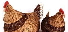 Gallinas en bejuco - Tripeperro - imagen: Artesanías de Colombia