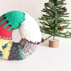クリスマスリース|編み物キットオンラインショップ・イトコバコ