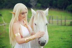 Jessica Nigri as Princess Zelda (Breath of the Wild)
