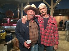The Ranch (TV Series 2016 - ) 8 inch by 10 inch PHOTOGRAPH Sam Elliott from Thighs Up w/Arm Around Barry Corbin kn - The Ranch (TV Series 2016 - ) This is a wonderful 8 inch by 10 inch Photograph The Ranch Series, The Ranch Tv Show, Tv Series 2016, Netflix Series, Web Series, Sam Elliott The Ranch, The Ranch Netflix, Debra Winger, Tom Selleck