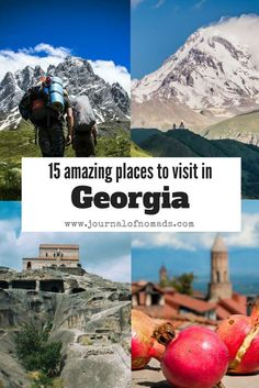 Here are 15 of the best and amazing places to visit in Georgia (that small country on the edge of Europe and Asia). Journal of Nomads