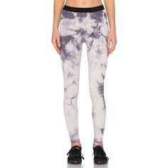 Blue Life Fit Tie Dye Leggings Activewear ($121) ❤ liked on Polyvore featuring activewear and activewear pants