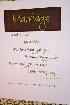 Marriage...O so true!!
