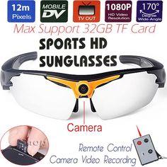 #BlackFriday is coming early #BestPrice #CyberMonday 12MP CMOS Sports Sunglasses Mini DV Sunglasses Motion Camera 1080P HD Digital Video…