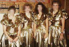 tacky bridesmaid dress