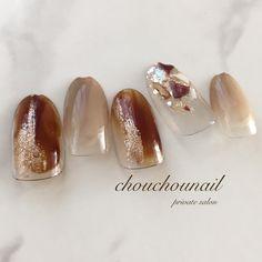 Trendy Nails, Cute Nails, Korea Nail, Office Nails, Cool Nail Art, Winter Nails, Nail Art Designs, Acrylic Nails, Manicure