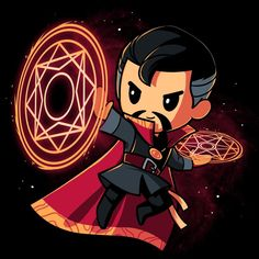 """""""Master of the Mystic Arts"""" by TeeTurtle Doctor Strange Who are you in this vast multiverse? Officially licensed by Marvel Comics Dr Strange, Doctor Strange Drawing, Strange Marvel, Chibi Marvel, Marvel Art, Marvel Heroes, Marvel Characters, Marvel Avengers, Disney Marvel"""