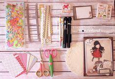Lucy-Wonderland: Smash book travel kit