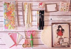 Lucy-Wonderland: Smash book travel kit