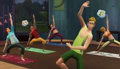 Completing A Few New Year's Resolutions Made Easy In 'The Sims 4'