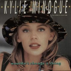 """For Sale - Kylie Minogue Wouldn't Change A Thing USA 7"""" vinyl single (7 inch record) - See this and 250,000 other rare & vintage vinyl records, singles, LPs & CDs at http://eil.com"""