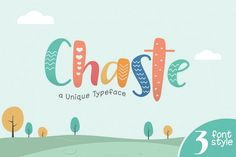 Chaste Display 3 Font by khurasan Kids Branding, Branding Design, Logo Design, Logo Branding, Branding Ideas, Icon Design, Kids Graphic Design, Kid Fonts, Toys Logo