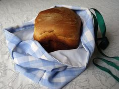 Everyday Sugar: Tutorial: Sew a Lined Bread Bag