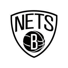 NBA Brooklyn Nets Die Cut Vinyl Decal PV933