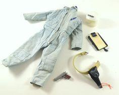 GI Joe Scramble Set #7807 1964 ARAH Hasro Toy Soldier Clothes Pilot #Hasbro
