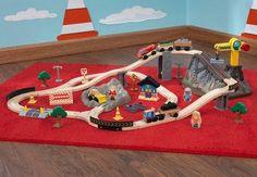Bucket Top Construction Train Set