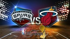 2014 NBA Finals - San Antonio Spurs & Miami Heat
