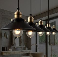 NEW Industrial Retro Pendant Lamp House Kitchen Bar Cafe Hanging Ceiling Light | Big Led Store