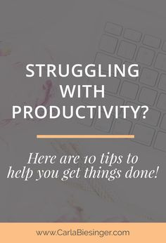 Productivity Tips | Be More Productive At Work | How To Increase Productivity