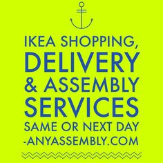 IKEA Furniture Shopping , Delivery U0026 Assembly Services #wecandothat  #furnitureassembly #wedoutbetter #satisfactionguaranteed