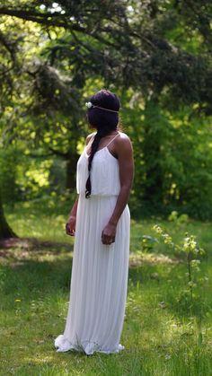 Weisses langes kleid zara