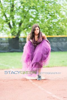 Maddie…Girly Girl Meets Softball Field | Senior Style Guide