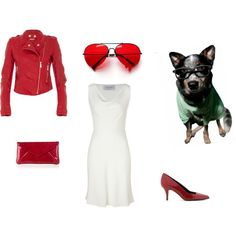 """Red & White"" by duvessa87 on Polyvore"