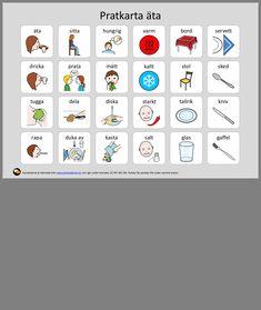 Learn Swedish, Swedish Language, Pictogram, Autism, Preschool, Anton, Learning, Adhd, Sweden