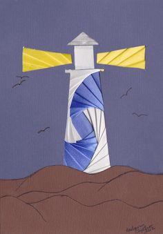Lighthouse Iris folding