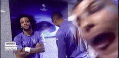 #Ronaldo#funny#Marcelo#RealMadrid#gif