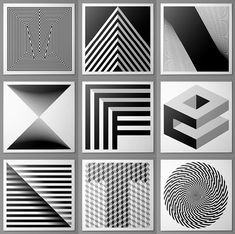 The perfect geometric Manifesto B+W photography competition identity by Josip Kelava, via Behance