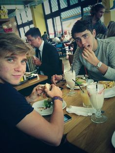Joe Sugg, Alfie Deyes. the brother and the brother-in-law