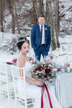 Frosted Fairy Tale Wedding Inspiration