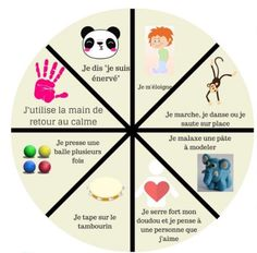 This dad invented the wheel . to calm the anger of children - - Autism Education, Education Positive, Papa Positive, Positive Attitude, Discipline Positive, Sensory Issues, Autistic Children, Feeling Overwhelmed, Kids And Parenting