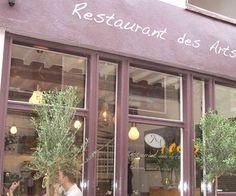 (French) Restaurant des Arts  Boterstraat 15  Utrecht  (030) 233 22 19