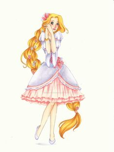 Rapunzel's New Dress