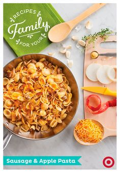 ... apple pasta welcome fall with this hearty delicious sausage and apple