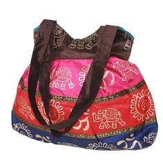 Shimmering Horizontal Patch Tote Bag $24.99  Use code FRIEND for 25%off+FREE SHIP at www.neo-notions.com