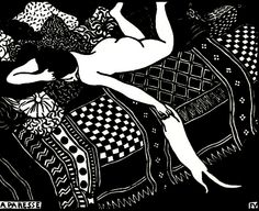 La Paresse, Felix Vallotton (I was given a print of this at 19. Discovering more of Vallotton's incredible work just now)
