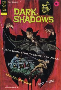 Cover for Dark Shadows (Western, 1969 series) #18