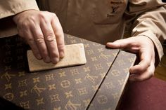 The first in-store atelier at its #Soho location in #NYC showcases the brand's dedication to... #LouisVuitton #customization