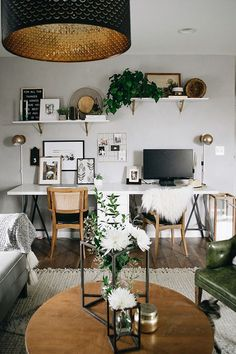 Designers we Love: Nest Out West Boho Office | Scout & Nimble