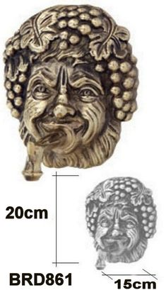 Wall Brass Masks & Fountain Emitters